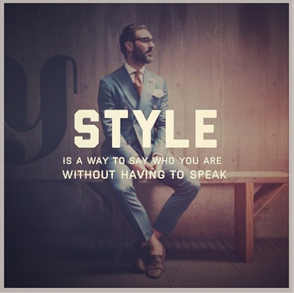 Quotes rlrb Mens fashion style quotes