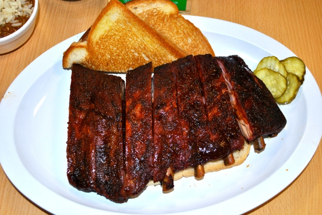 Good Eats BBQ Ribs Barbecue Oklahoma Joe's