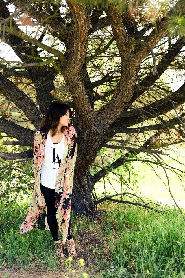 RLRB - Floral Kimono