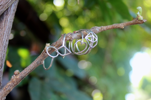 RLRB silver dainty thin ring