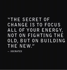 Inspirational quote - change