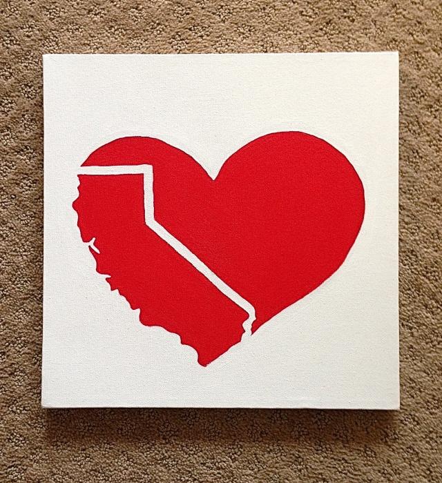 California love painting