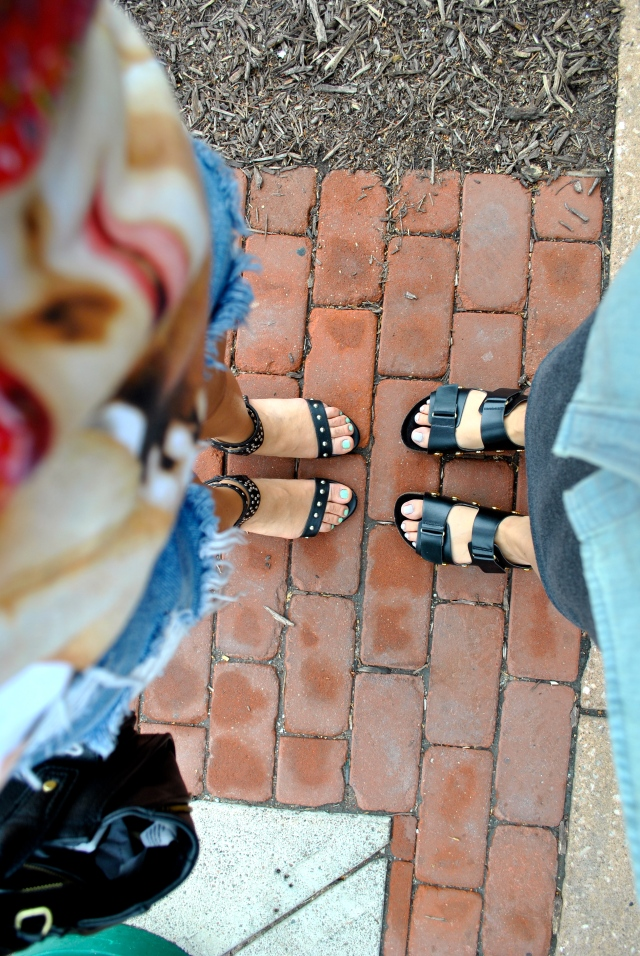 RLRB style summer shoes sisters