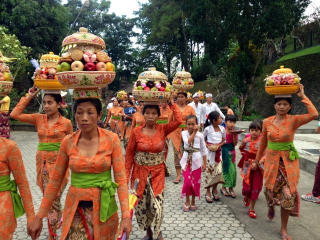 Otonan Balinese Birthday Tanah Lot Bali