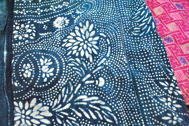 RLRB fabric indigo vintage