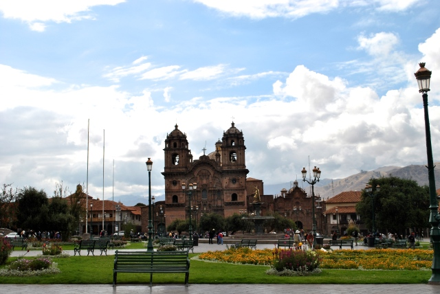 Plaza De Armas Cusco Cuzco Peru travel