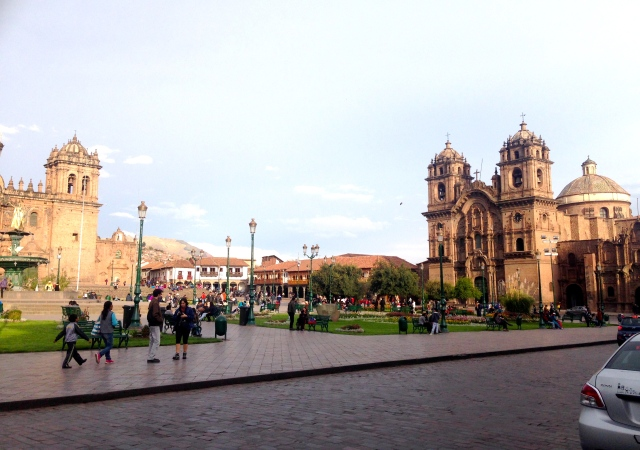 Plaza De Armas Cuso Peru Travel