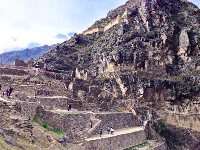 Ollantaytambo Ruins Peru RLRN